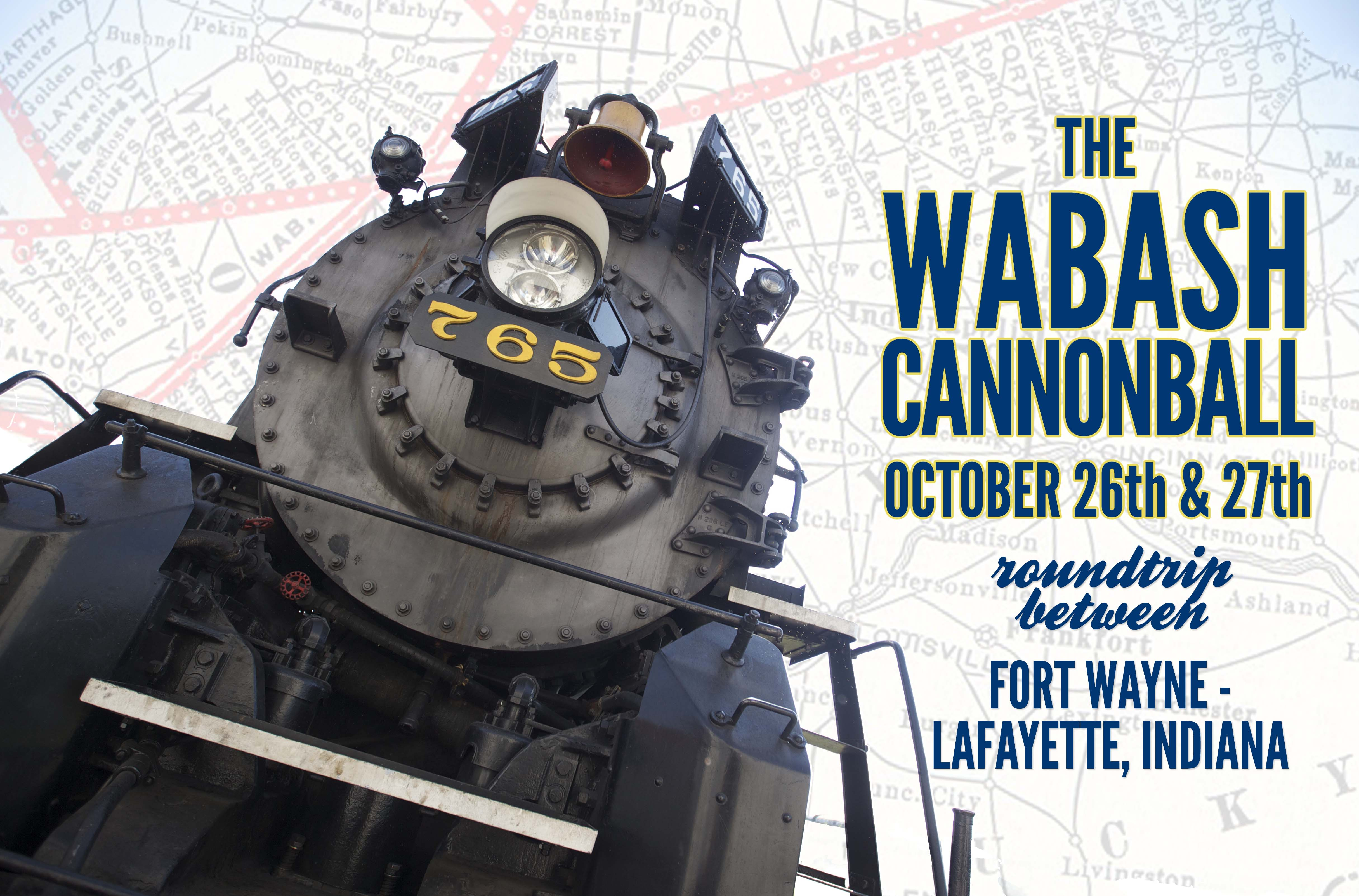 Wabash Cannonball Artwork