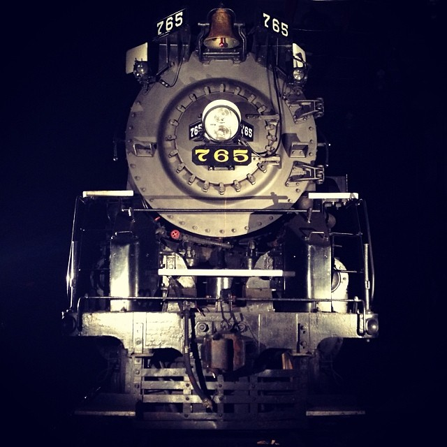 Nickel Plate Road steam locomotive no. 765