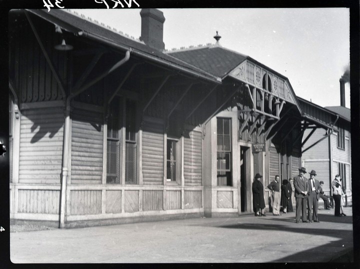 Nickel Plate Depot pre-elevation