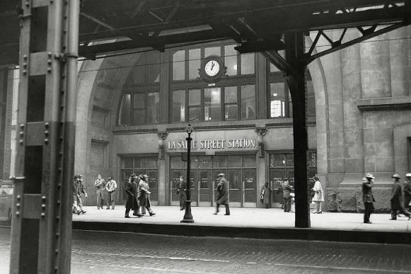 LaSalle Street Station served the New York Central, Nickel Plate Road and Rock Island Railroad throughout its history.