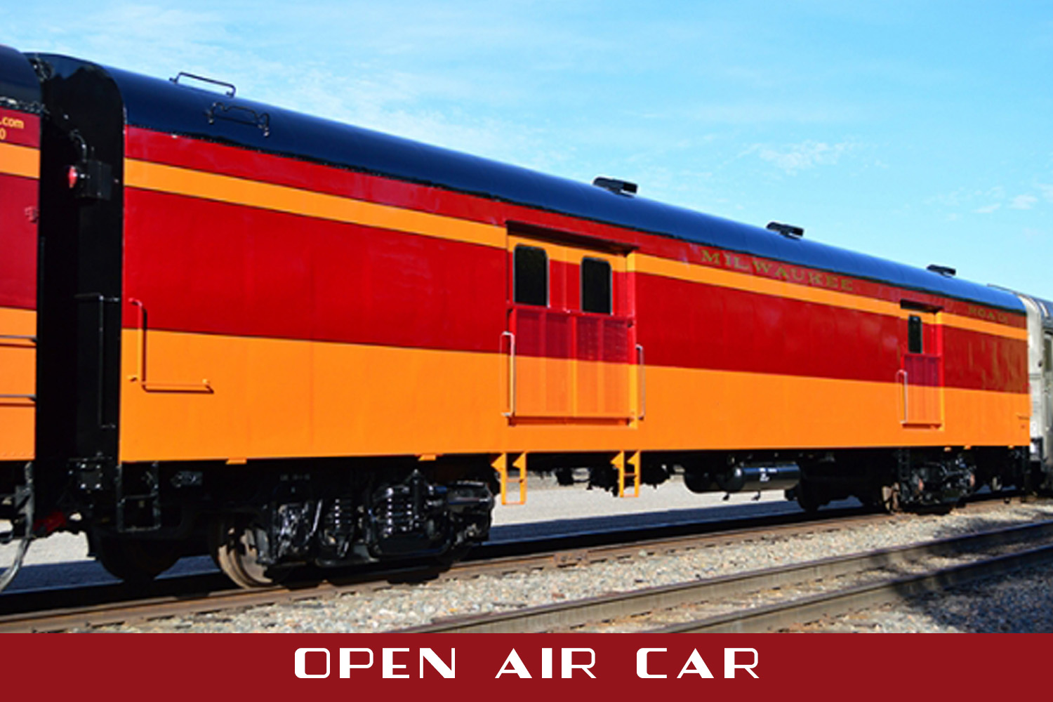 The Joliet Rocket First Class Train Excursions Between