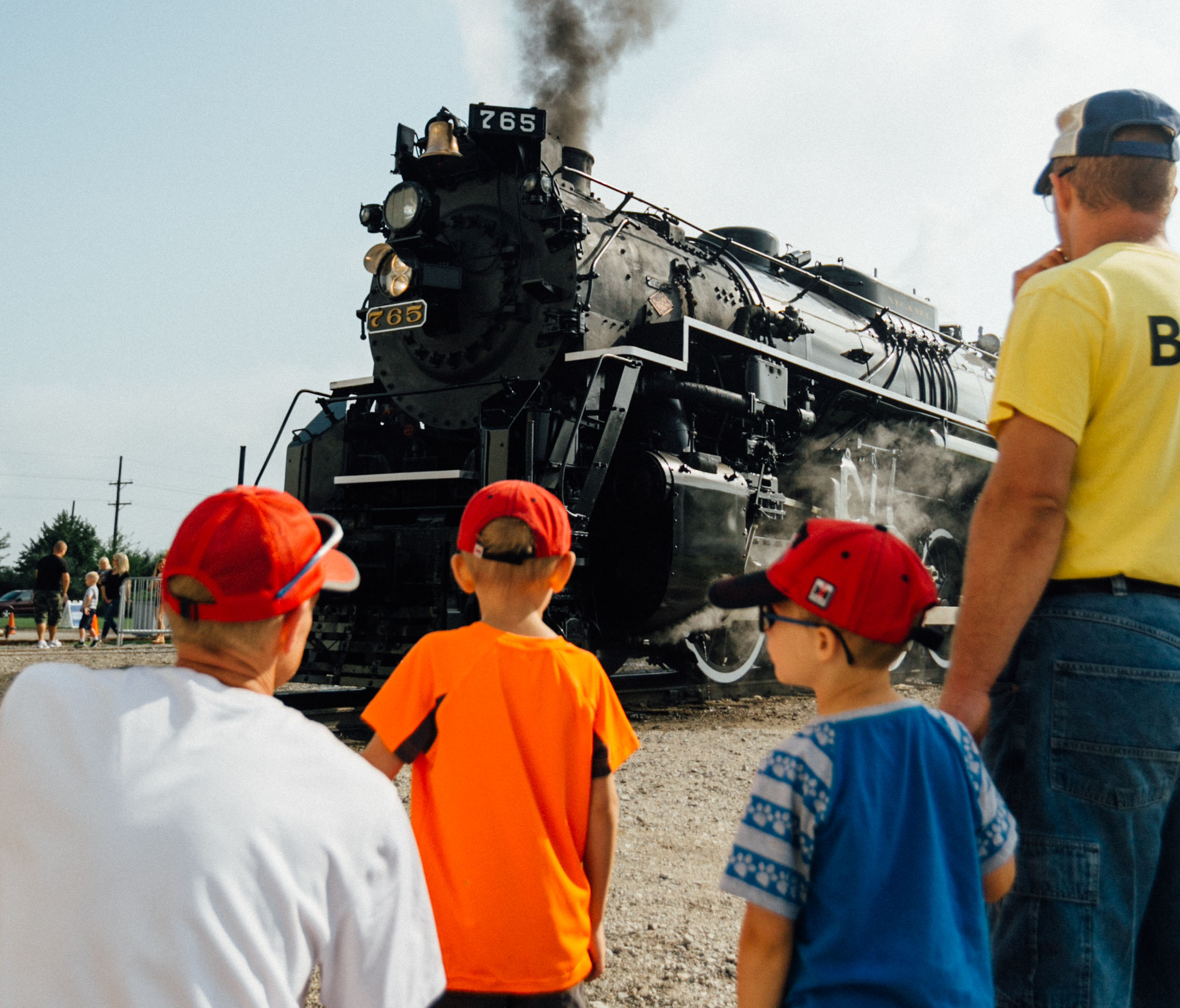 steam locomotives delight crowds during open house fort wayne