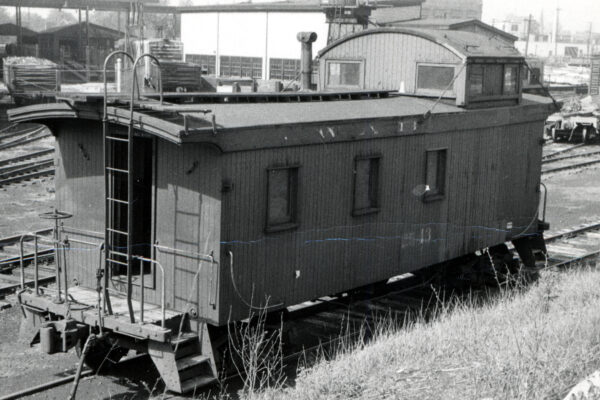 Wabash Caboose no. 2543 Victor Baird collection